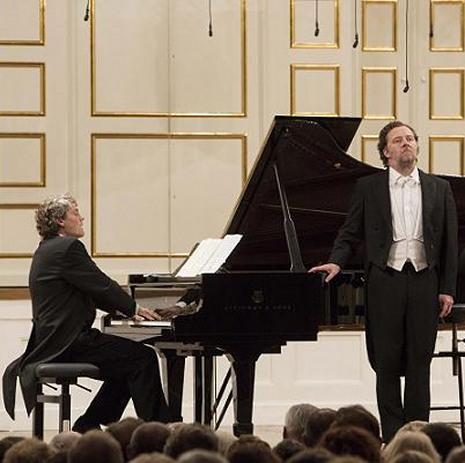 Festival de Salzburg 8 d'agost de 2013  Gerold Huber (piano) i Christian Gerhaher (piano) Fotografia: Silvia_Lelli_jens-f-laurson