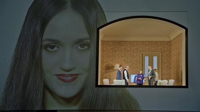 Acte 3er La núvia delk Tsar, producció de Dmitri Terminakov, Foto Monika Rittershaus