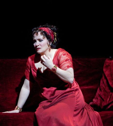 Patricia Racette, Tosca al MET. Fotografia Ken Howard/MET