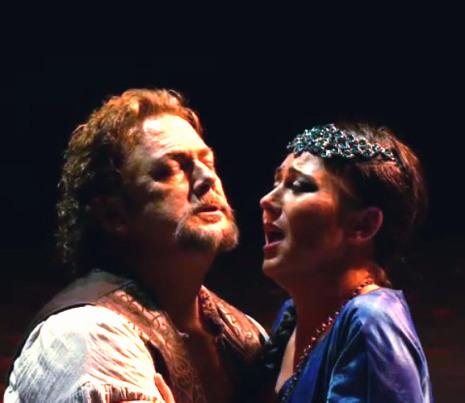 Gregory Kunde i Veronica Simeoni a l'acte IV de L'Africaine a La Fenice de Venècia