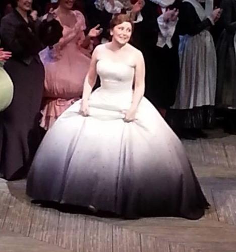Karine Deshayes (Cendrillon) Gran Teatre del Liceu 28 de desembre de 2013.Foto gentilesa de Gemma (Facebook)