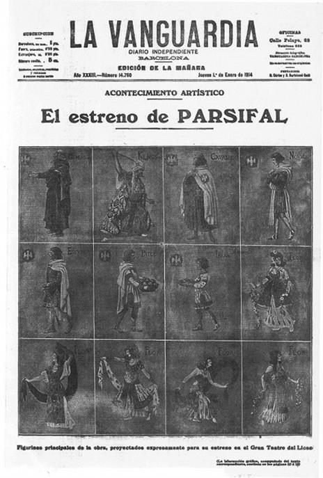 La repercussió mediàtica de l'estrena de Parsifal al Liceu