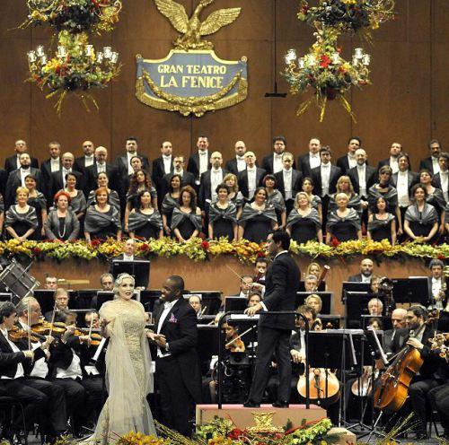 Concert de Cap d'ANy a La Fenice de Venècia 2014 Carmen Giannattasio-Lawrence Brownlee i Diego Matheuz