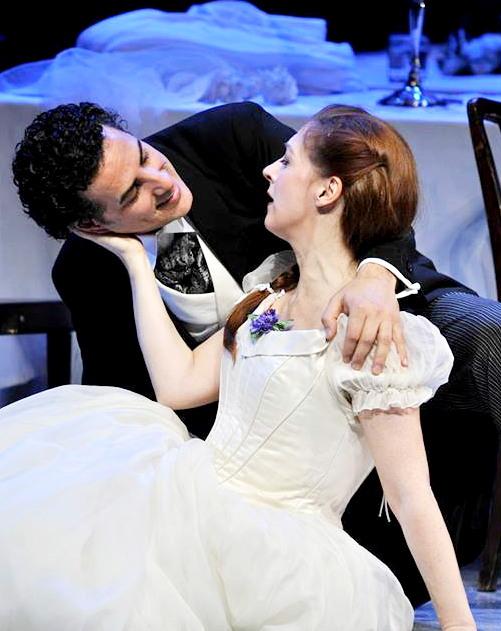 Patrizia Ciofi i Juan Diego Flórez a La sonnambula al Gran Teatre del Liceu 2014. Fotografia Bofill