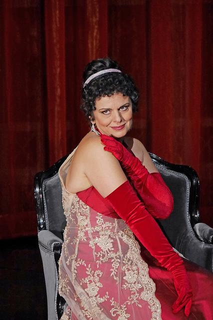 Fiorenza Cedlins (Tosca) Gran Teatre del Liceu, producció Paco Azorín Fotografia © A Bofill Premsa Liceu