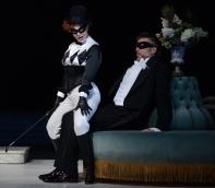 Daniela Fally ( Fiakermilli), Thomas Hampson (Mandryka) Arabella al Festival de Pasqua de Salzburg 2014, Producció de Florentine Klepper. Fotografia (c) Matthias Creutziger