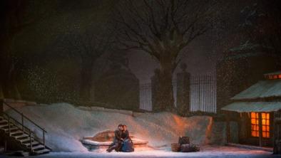 La Bohème, acte 3er Producció de Franco Zeffirelli MET