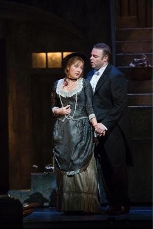 Sonia Yoncheva (Marguerite) i Joseph Calleja (Faust) Fotografia The Royal Opera, © ROH / Bill Cooper 2014