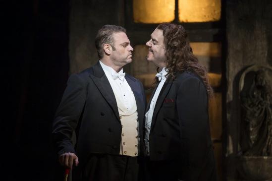 Joseph Calleja (Faust) i Bryn Terfel (Méphistophélès) Fotografia The Royal Opera, © ROH / Bill Cooper 2014