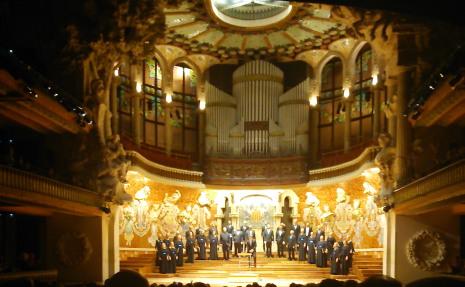 Palau de la Música Catalana 15 de maig de 2014. Foto IFL