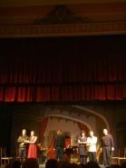 L'occasione fa il ladro al Teatre Sarrià 04/05/2014 Carlos Cardoso- Ayelé Mose - Raul Biglietto - Elsa Giannoulidou - Donato Di Gioia i Juan Carlos Blanco Foto IFL