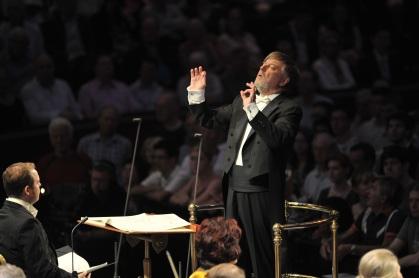 Sir Andrew Davis PROMS 2014 The Kingdom Copyright: BBC/Chris Christodoulou