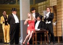 Ariadne auf Naxos producció de Christoph Loy foto © ROH