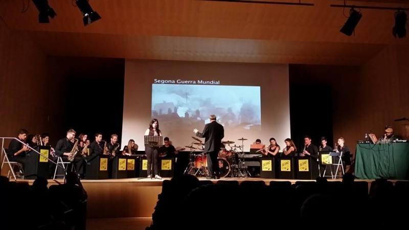 Big Band del CEME, Auditori 3 de L'Espai Cultural de Sabadell, 30 de juny de 2014. Fotografia Joana Soler