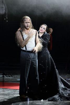 Andrew Harris (Plutone), Anna Bonitatibus (Proserpina) Fotografia © Bavarian State Opera