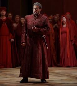 Plácido Domingo, Il conte di Luna a Il Trovatore, Salzburg 2014 © Salzburger Festspiele / Forster