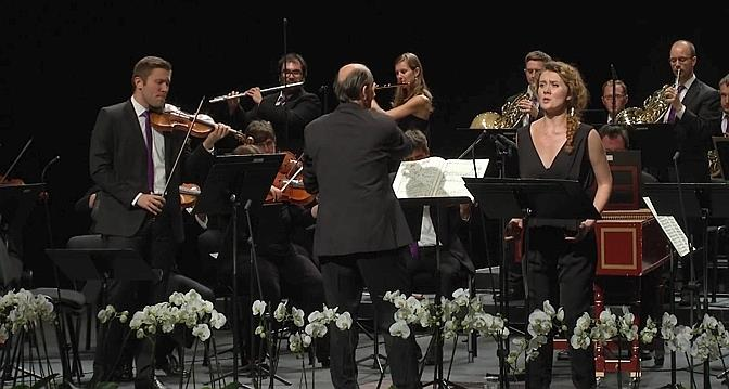 Iulia Maria DAN (Aminta) a Il Re Pastore Verbier 2 d'agost de 2014