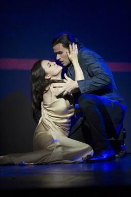 Venera Gimadieva i Michael Fabiano a La Traviata (Glyndebourne 2014) Foto ©Richard Hubert Smith