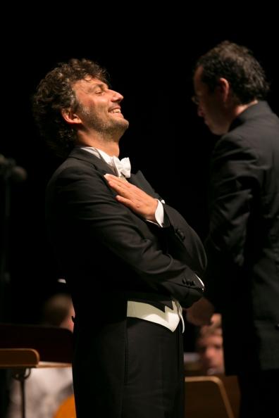 Jonas Kaufmann i Jochen Rieder. Festival de Peralada 3 d'agost de 2014 Fotografia Shooting - Miquel Gonzàlez