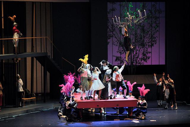 Il Barbieri di Siviglia, finale primo, producció de Joan Font (Comediants) foto  ® Antoni Bofill gentilesa Premsa Liceu