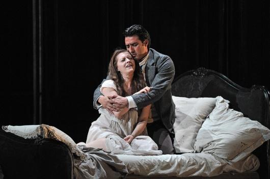Patricia Ciofi i Charles Castronovo a La Traviata Liceu octubre 2014 Foto ® A Bofill