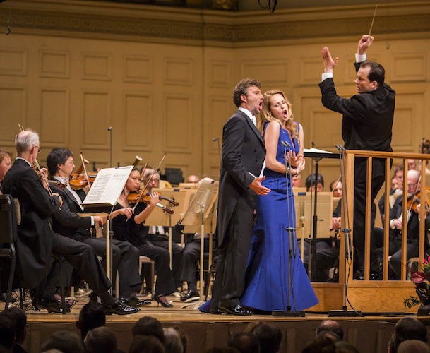 BSO 27/09/2014 Jonas Kaufmann, Kristine Opolais i Andris Nelssons. Foto Chris Lee a The ARts Fuse