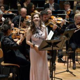 Patricia Ciofi (Dinorah) a la Berliner Phiolharmonie 01/10/2014 Fotografia © Bettina Stöß 2014