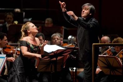 Diana Damrau i Antonio Pappano Foto ©Musacchio & Ianniello
