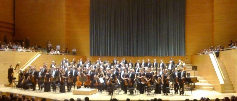 Orquestra Simfònica de Ràdio Suècia. L'Auditori 23 d'octubre de 2014. Foto IFL
