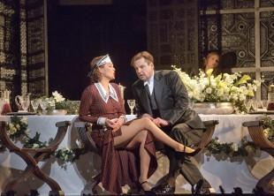 Marlis Petersen, Peter Mattei a 'Le Nozze di Figaro.' (Ken Howard/Metropolitan Opera)