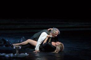 Lucic i Netrebko al Macbeth de Verdi Photo (c) Met Opera