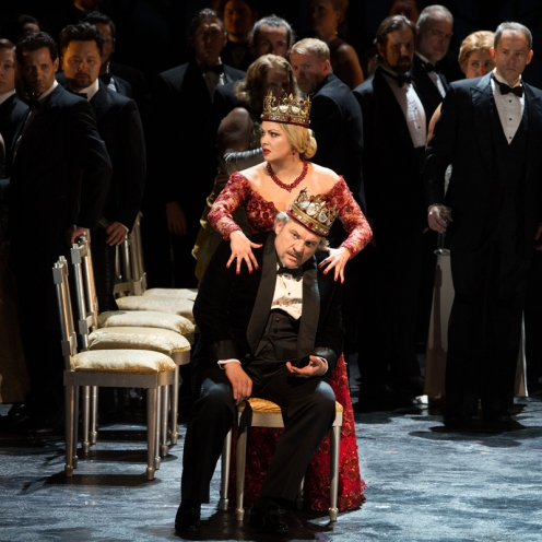 Lucic i Netrebko al Macbeth de Verdi Photo (c) Met Opera