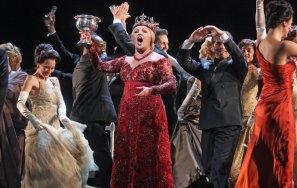 Anna Netrebko (Lady) Fotografia de Marty Sohl/Metropolitan Opera