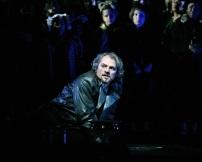 Željko Lučić (Macbeth) Fotografia de Marty Sohl/Metropolitan Opera