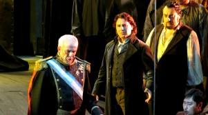 Prestia, Alagna i Petean al Don Carlo a Viena. Foto Michael Pöhn / Wiener Staatsoper