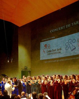 Josep Buforn, Òscar Boada i Cor Vivaldi 16/11/2014 Foto IFL