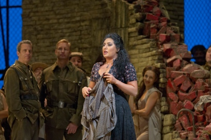 Anita Rachvelishvili (Carmen) al MET, fotografia Ken Howard and/Metropolitan Opera