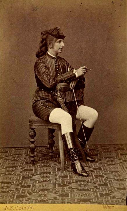 Emilie Turaczek (1846 - 1889).