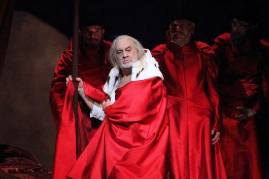 Plácido Domingo a I due Foscari © ROH/Catherine Ashmore, 2014