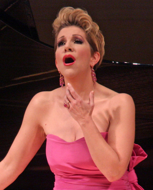 Joyce DiDonato al Carnegie Hall. Credit Hiroyuki Ito for The New York Times