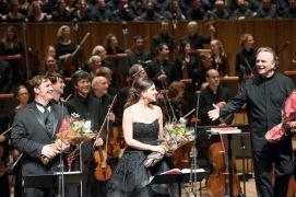 Joyce El-Khoury (Pauline), Michael Spyres (Polyeucte), Sir Mark Elder (conductor) Foto c-russell-duncan