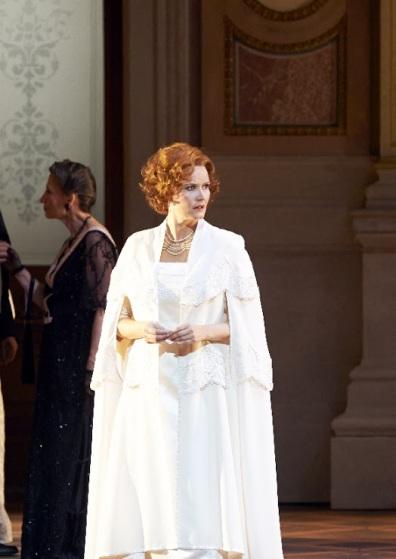 Camilla Nilund (Elisabeth) , Tannhäuser a Viena. Fotografia © Wiener Staatsoper / Michael Pöhn