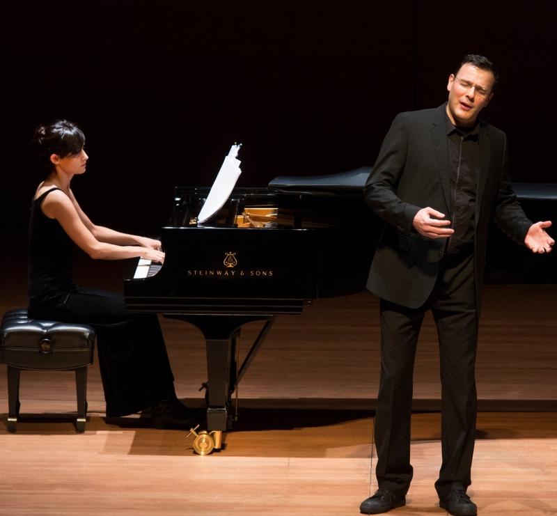 Andreas Scholl (contratenor) i Tamar Halperin (piano)