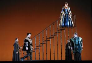 Anna Bolena a la Lyric Opera de Chicago, producció de Kevin Newbury
