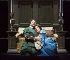 Bryan Hymel (Lord Percy) i Sondra Radvanovsky (Anna Bolena) a la LOC.