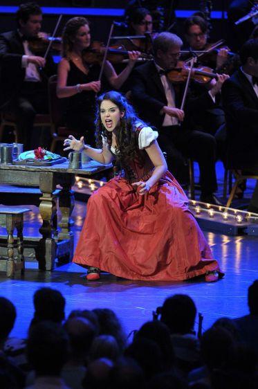 Alexandra Silber (Lilli Vanessi / Katherine) Foto BBC/Chris Christodoulou
