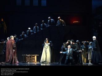 Simon Boccanegra, Teatro La Fenice, producció d'Andrea De Rosa Foto Michele Crosera