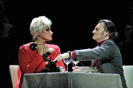 Ángeles Blancas i Antoni Comas a Una voce in off © A. Bofill