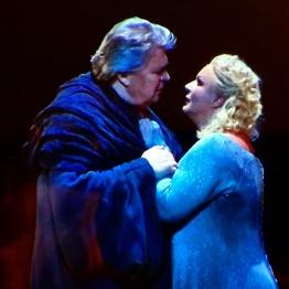 Peter Seiffert i Iréne Theorin a Tristan und Isolde (Staatsoper de Viena) Fotografia Wiener Staatsoper/Michael Pöhn