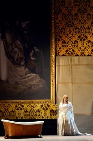 Jessica Pratt (Giulietta) a I Capuleti e i Montecchi a La Fenice. Foto Michele Crosera